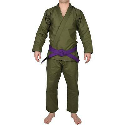 Other Combat Sport Supplies Custom Made Tattico Esercito Verde Oliva Jiu-jitsu Brasiliano Gi Bjj Kimono