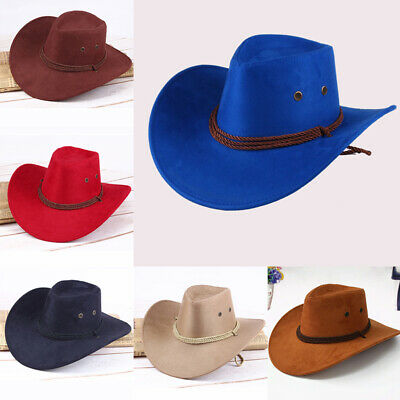 e8928155169b1 Western Cowboy Hat Men Riding Cap Fashion Accessory Crushable Crimping Gift  US