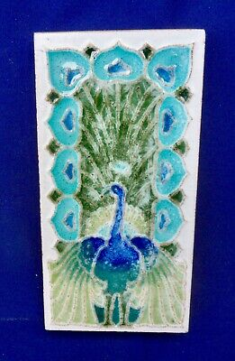 "Original  English  Art Nouveau tile , c1906/8 3""x6""Tile  ref Mintons China Wks"