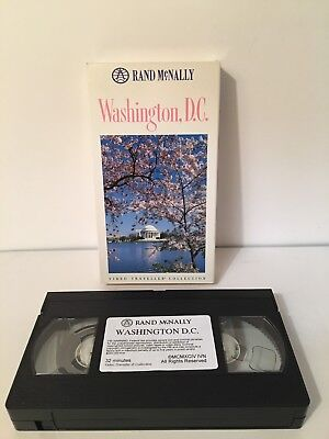 Washington RAND MCNALLY VIDEO DOCUMENTARY TRAVELLER COLLECTION Auction Finds 702