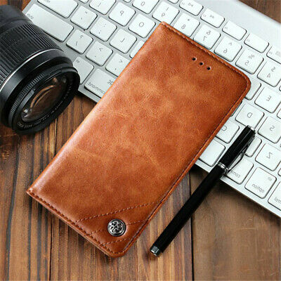 For Samsung Galaxy A9 A8 A7 A6 + 2018 Luxury PU Leather Flip Wallet Case Cover