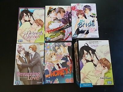 MANGA : Boy's Love Collection - Manga Yaoi (5 tomes) - Pack 1  - VF