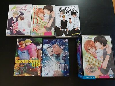MANGA : Boy's Love Collection - Manga Yaoi (5 tomes) - Pack 9  - VF