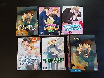 MANGA : Boy's Love Collection - Manga Yaoi (5 tomes) - Pack 5  - VF