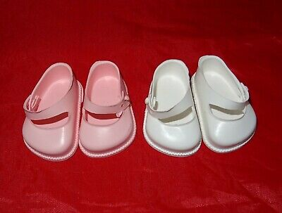 Cinderella  Doll Strap  Shoes, Size 1 ,White or Pink