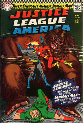 Justice League of America (DC) #45 (June 1966) SILVER AGE