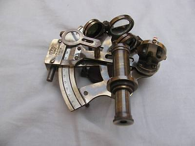 """4"""" Nautical Sextant~Antique Retro Sextant~Collectible Working~ Brass Gift"""