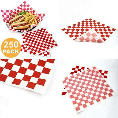 """Deli Paper Sheets Sandwich Wrap Paper - 12X12"""" Food Wrapping Grease Resistant Ch"""