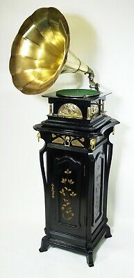 Victor His Masters Voice Black Melba  Phonograph Gramophone