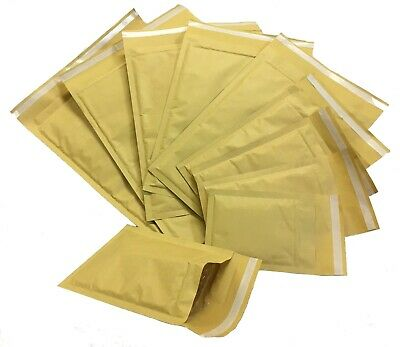 Mp Gold Bubble Lined Padded Envelopes Mailers Bags *All Sizes / Qty's*