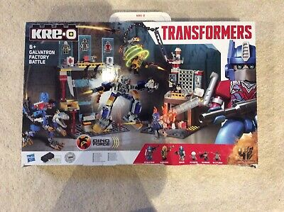 Kre-o Transformers Lego Toy, Galvatron Factory Battle, Complete