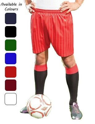 Ages 3-14 Years Boys Girls Shadow Stripe Shorts Football PE School Games Sports