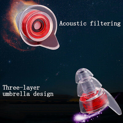 Soft silicone noise cancelling ear plugs for sleeping 'concert hearsafe earpl HQ