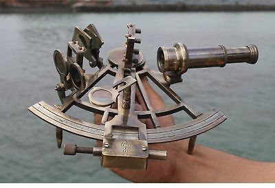 Nautical Sextant Maritime Collectible Repro Instrument Astrolabe Royal Item.