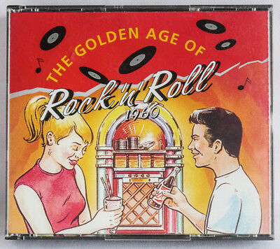 Readers Digest The Golden Age of Rock'n'Roll 1960 3 cd fat box audio hits year