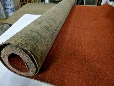Shed Roofing Felt 1 Roll 10 metres x 1 metre Red Mineral Finish
