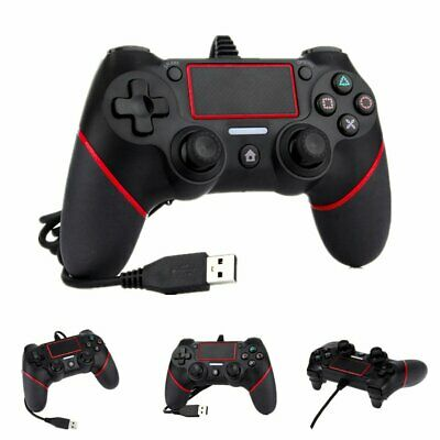 Wired Game Controller Joystick Gamepad 6 Axis Joypad für Playstation 4 PS4 Re2