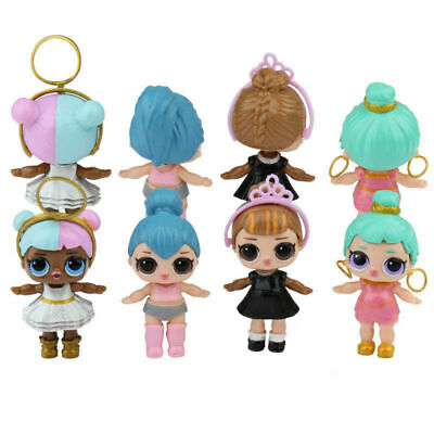8PCS/SET Toy Gifts LOL Lil Outrageous 7 Layer Surprise Series Dolls Kids