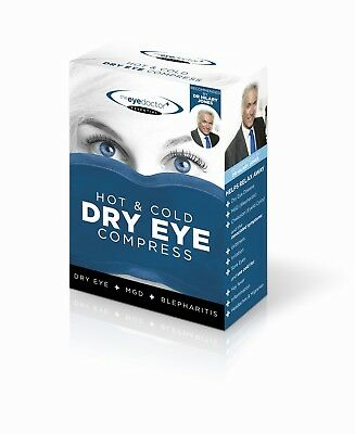 The Eye Mask microwaveable Hot Eye Compress Blepharitis MGD Dry Eyes The Doctor.