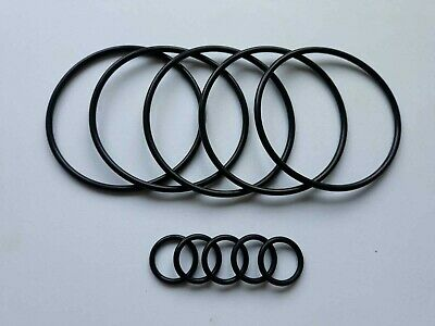 5x Suzuki LTR450 '06-'12 Inner & Outer Oil Filter Gasket O Ring