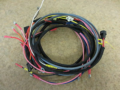 farmall cub 1949 & below w/relay tractor wiring harness set serial #501-