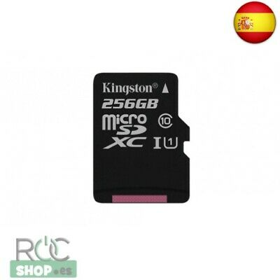 Kingston 256Gb Microsdxc Canvas Select 80R Cl10 Uhs-I Single