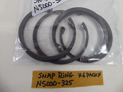 Snap Ring N5000-325 Retaining Ring (Pack of 6)