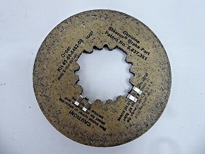 Stearns 8-004-507-00 Friction Disc 5-66-8462-00 566846200 800450700