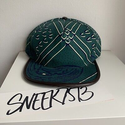 5b76a51edfc Supreme New York 5 Panel Strap Back Hat Green