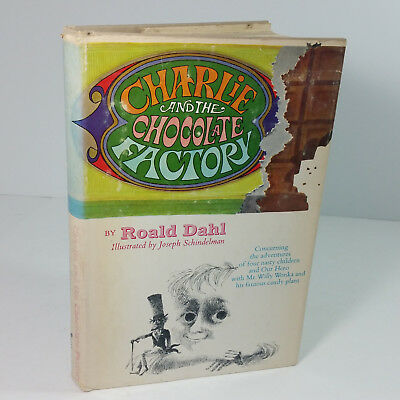 Charlie & the Chocolate Factory 1973 Hard Back Book with Dust Jacket Roald Dahl