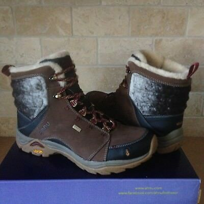ce420a31cb5 AHNU MONTARA LUXE WP Corduroy Leather Trail Hiking Boot Shoes Size US 10  Womens
