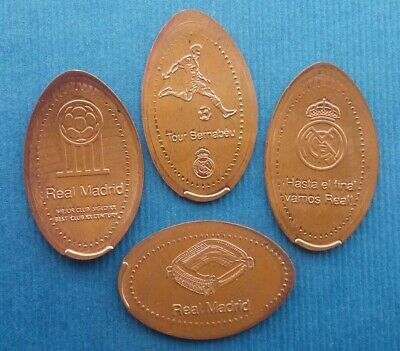Real Madrid Tour Bernabeu - Serie M077 - Moneda Elongada Elongated Coin