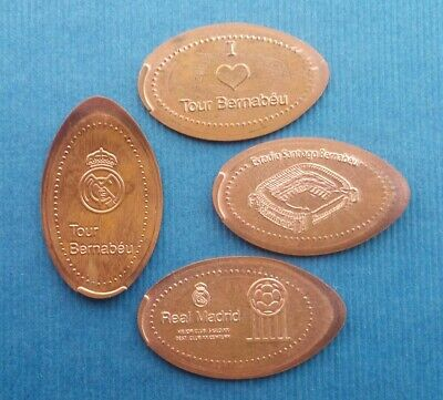 Real Madrid Tour Bernabeu - Serie M073 - Moneda Elongada Elongated Coin