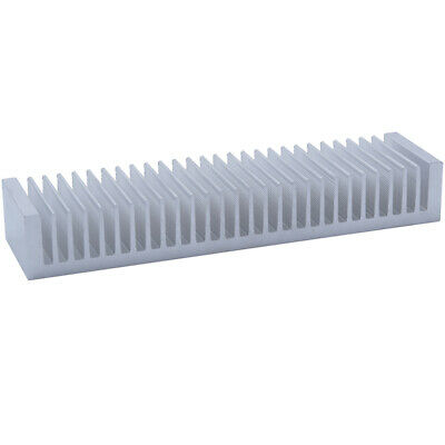 50*200*30mm Anodized Aluminium Heat Sink For CPU Power Transistor TO-126 TO-220