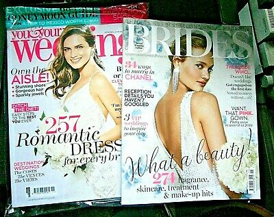 You & Your Wedding Magazine Nov/Dec 2018 & Conde Nast Bride Nov/Dec  2018 (new)