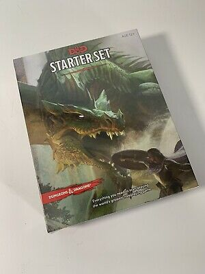 D&D Dungeons and Dragons Starter Set: 2014 WOTC Wizards of the Coast Sealed New