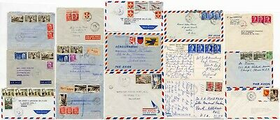 FRANCE USED IN GUADELOUPE CARIBBEAN...Covers Postal History
