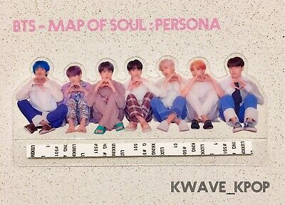 ✨Bts 방탄소년단 Map Of Soul : Persona✨ -Official Transparent Photo Picket Rare Merch