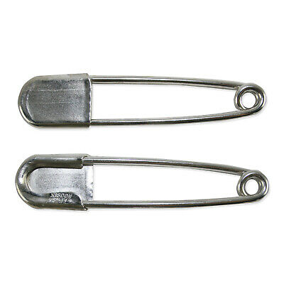 "Lot of 2 RISDON KEY-TAG SAFETY PIN 5"" LARGE. Kilt. Horse Blanket. Keychain"