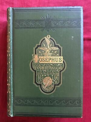 1868 Jewish War Of Flavius Josephus Destruction Of Temple Jerusalem Illustrated