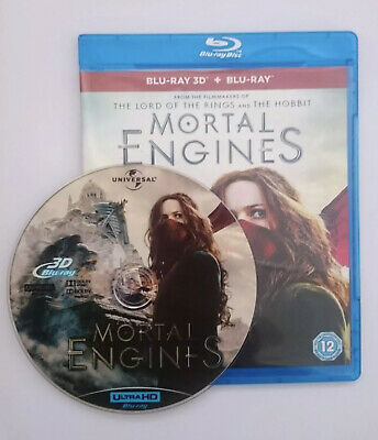 Mortal Engines 3D Blu-ray Region Free Best Deal