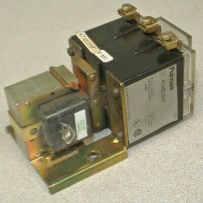 Furnas 47Ab10Af Alternating Relay / Pilot Duty / Nema A600 / 110-120V Coil