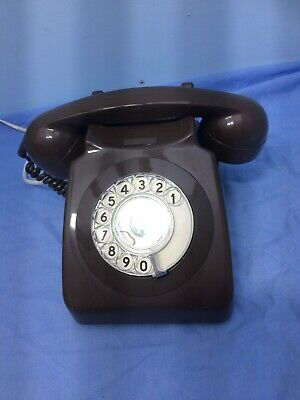 Retro Brown Tele 8746 G BT phone telephone clean and working ready to use