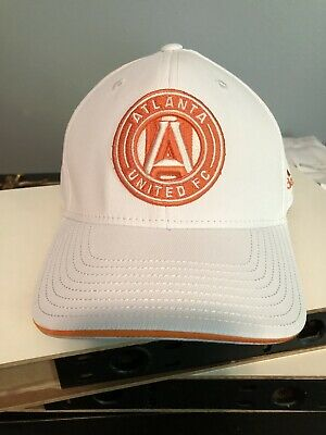 newest collection 27c10 5ed99 Atlanta United FC Adidas White Structured Adjustable Snapback Hat Cap
