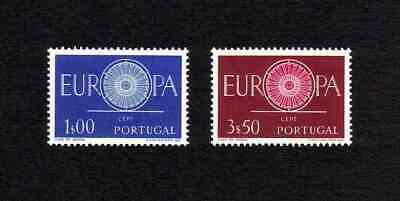 Portugal 1960 Europa complete set of 2 values (SG 1184-1185) MNH