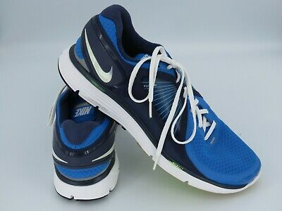 reputable site d480e ee3d2 NIKE LunarEclipse Flywire UK12, EUR 47.5 Running   Sport Trainers Blue  Lunarlon