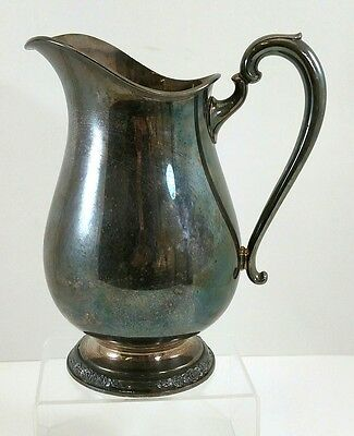 International Silver Company Camille Pattern Vintage Water Pitcher 6017