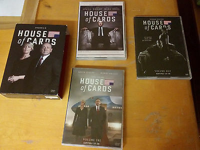 Trilogia House Of Cards House of card. Cofanetto prime tre stagioni 12 DVD.