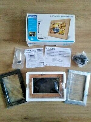 Logik 8.5 Inch Digital Photo Frame In Original Packaging
