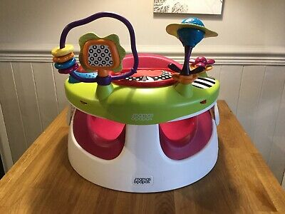 Mamas And Paps Baby Snug Booster Seat With Toy